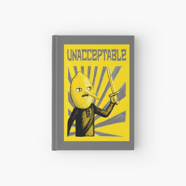 Unacceptable Hardcover Journal