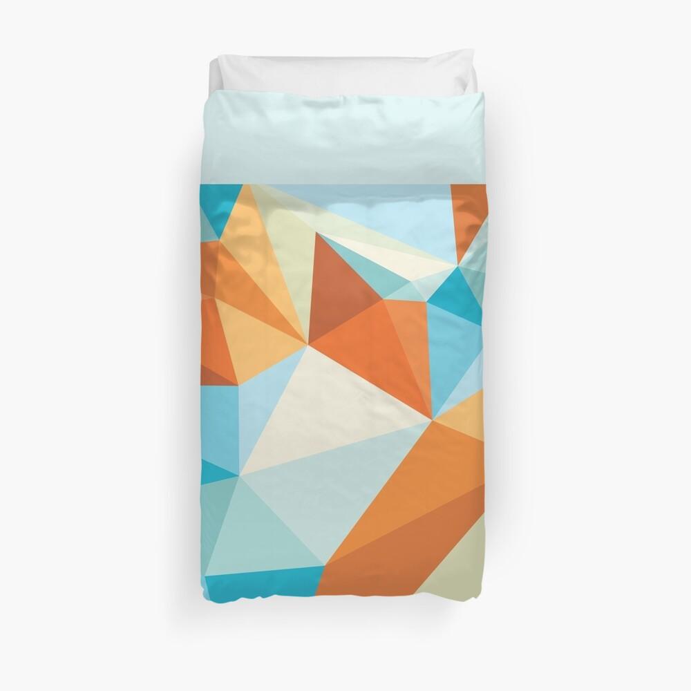 Shard – Gold Fish Duvet Cover
