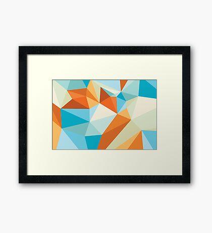 Shard – Gold Fish Framed Print