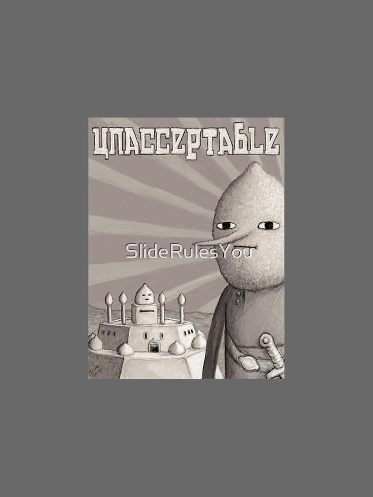 Unacceptable: Castle Lemongrab by SlideRulesYou