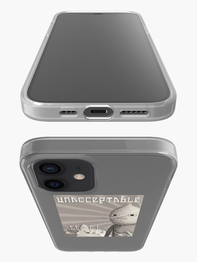 Alternate view of Unacceptable: Castle Lemongrab iPhone Case & Cover