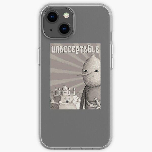 Unacceptable: Castle Lemongrab iPhone Soft Case