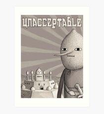 Unacceptable: Castle Lemongrab Art Print