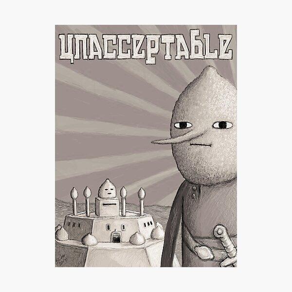 Unacceptable: Castle Lemongrab Photographic Print