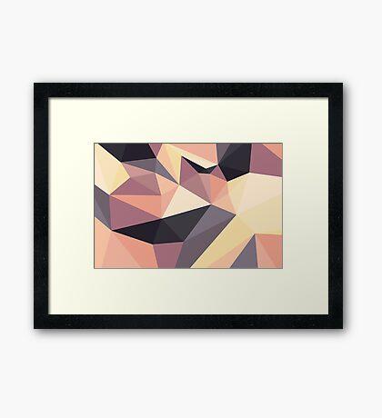 Shard – Dusk Framed Print