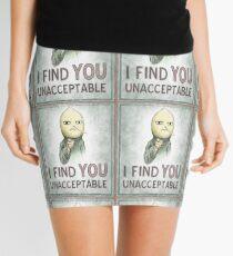 I Find You Unacceptable Mini Skirt
