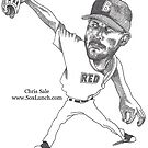 2019 Chris Sale by Brian Cody