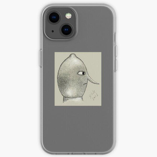 Lemongrab Profile iPhone Soft Case