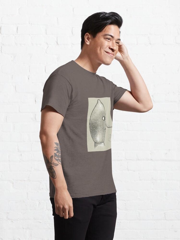 Alternate view of Lemongrab Profile Classic T-Shirt