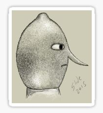 Lemongrab Profile Sticker