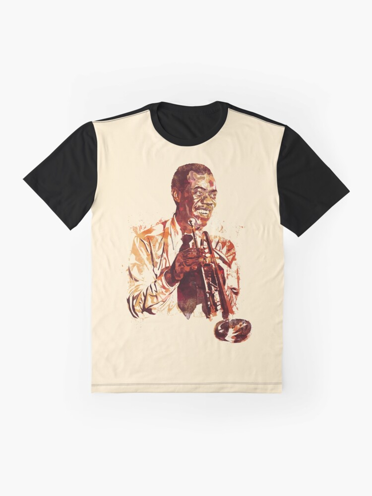 Alternate view of Paint Of Young Trumpet Player Graphic T-Shirt