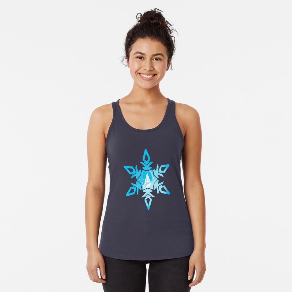 Fantasía de hielo Camiseta con espalda nadadora