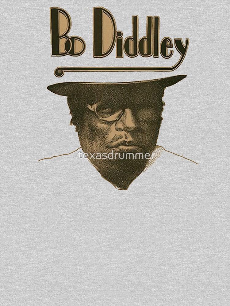 Bo Diddley by texasdrummer