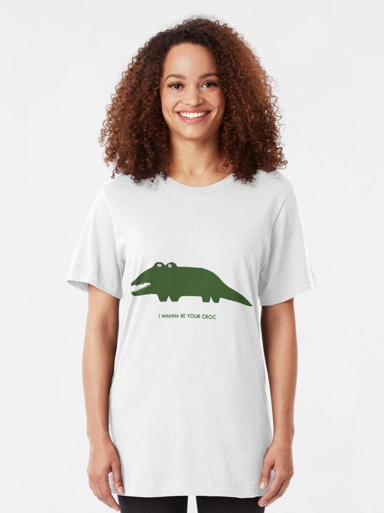 Alternate view of Iggy Croc Slim Fit T-Shirt