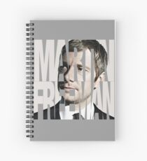 Martin Freeman Spiral Notebook