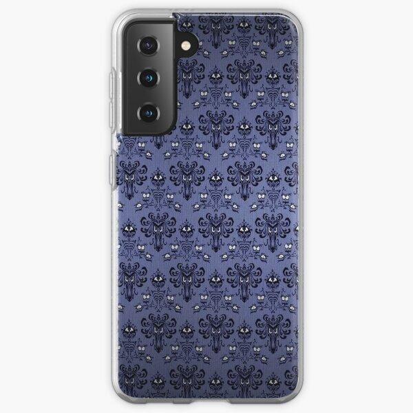 Haunted Mansion Damask Samsung Galaxy Soft Case