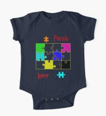 Puzzle Lover (red) Kids Clothes