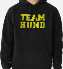 Team Hund, Yellow, Pullover Hoodie