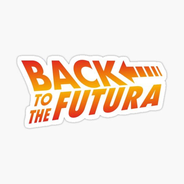Back to the futura Sticker