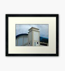sport hall Framed Print