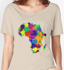 Africa Women's Relaxed Fit T-Shirt