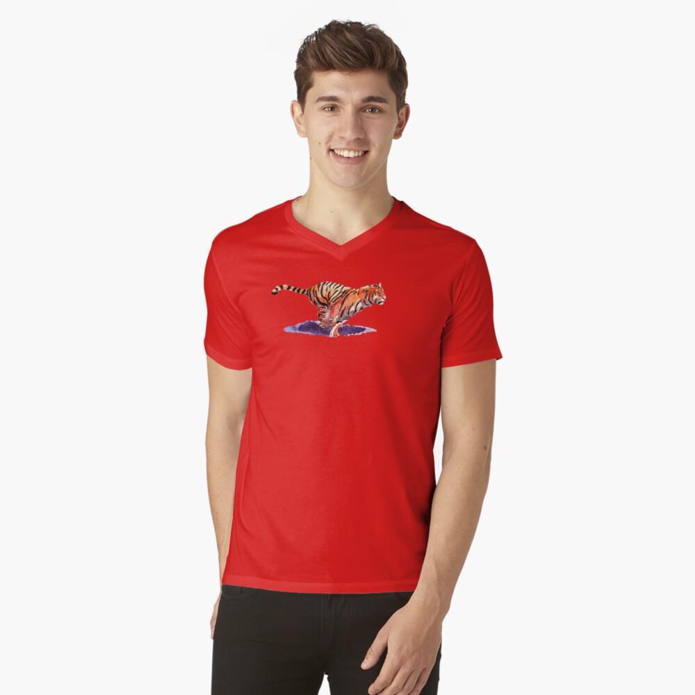The Tiger V-Neck T-Shirt
