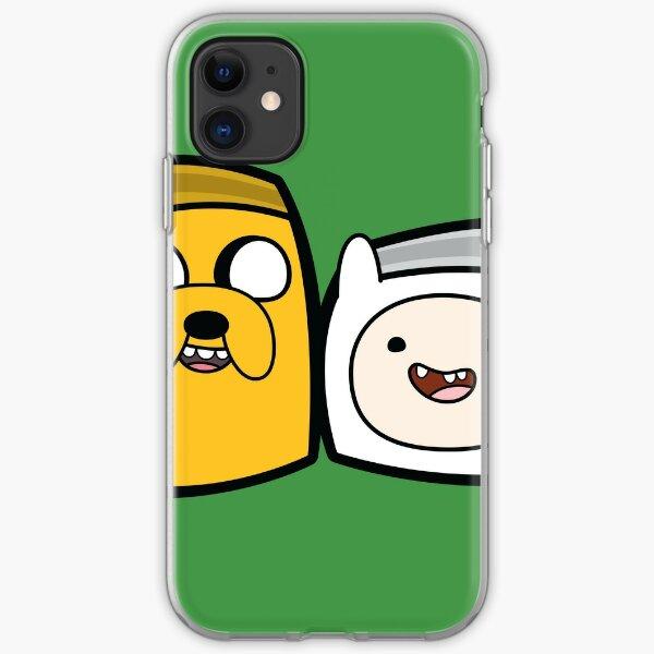 Finn and Jake - Adventure Time Boxheadz iPhone Soft Case