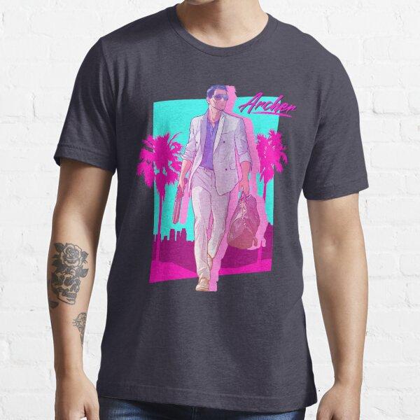 Archer - Vice Palm 80s  Essential T-Shirt