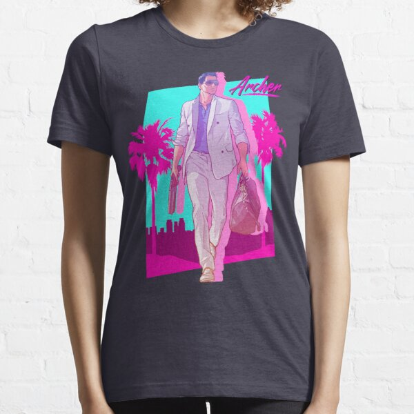 Archer - Vice Palm 80s  Essential T-Shirt