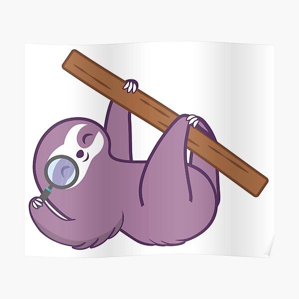 Sloth Explorer Poster