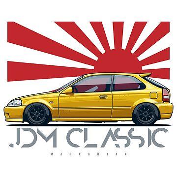 JDM Classic. Civic EK by OlegMarkaryan