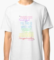 Once Upon a Time - Emma Swan Quote Rainbow Classic T-Shirt