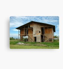 worker house Canvas Print