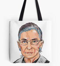 Supreme Court Justice Ruth Bader Ginsburg Tote Bag