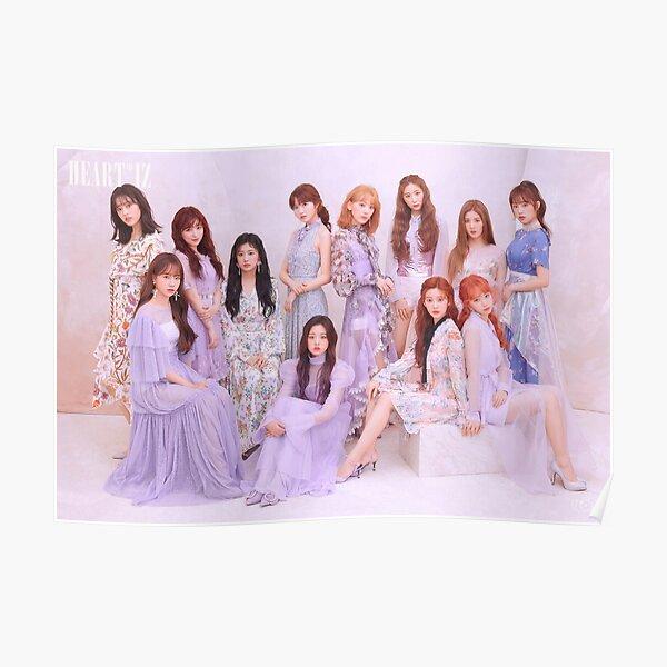 IZ*ONE (#아이즈원) - 2nd Mini Album [HEART*IZ] OFFICIAL GROUP PHOTO Violeta ver. Poster