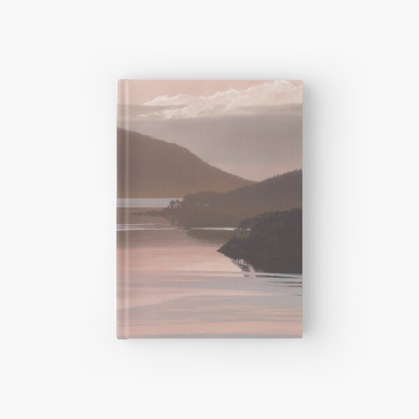 """Loch Sunart Refections"" West coast of Scotland Hardcover Journal"