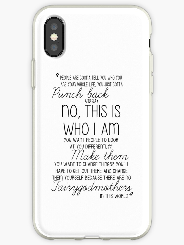 new concept 8621a bda9d 'Once Upon a Time - Emma Swan Quote B&W' iPhone Case by lauravanniekerk