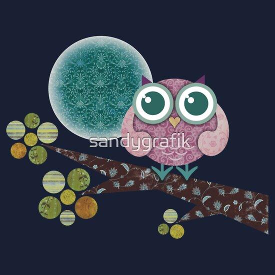 TShirtGifter presents: Midnight Owl