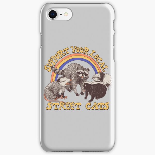 Chats de rue Coque rigide iPhone