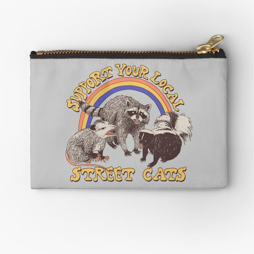 Street Cats Zipper Pouch