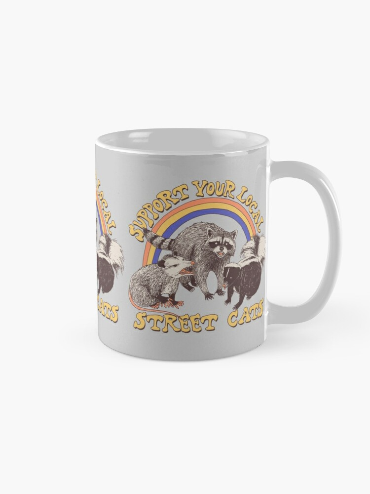 Alternate view of Street Cats Mug