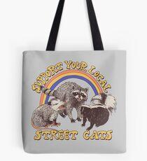 Straßenkatzen Tote Bag