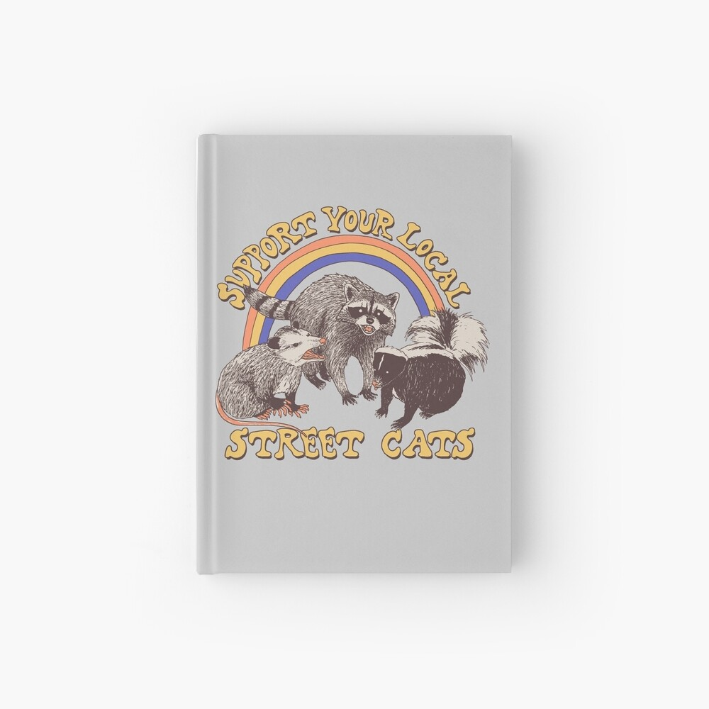 Street Cats Hardcover Journal