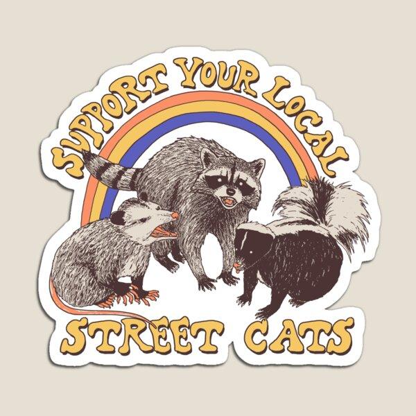 Street Cats Magnet