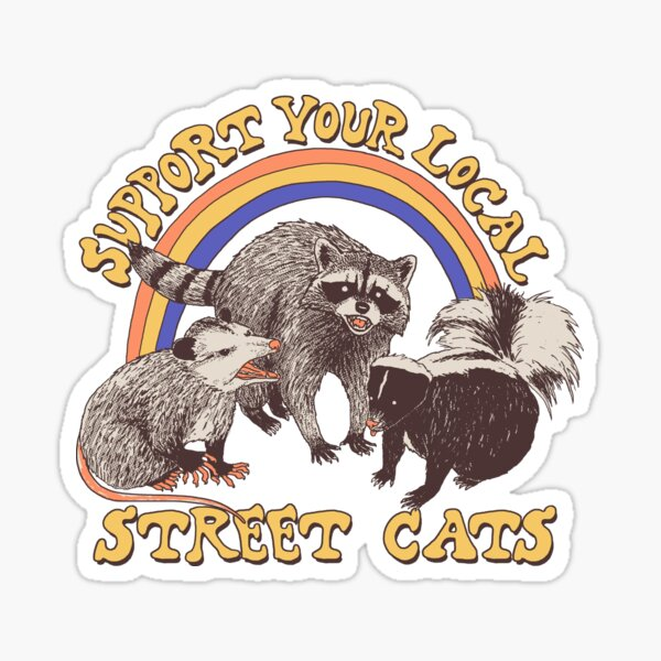 Street Cats Sticker