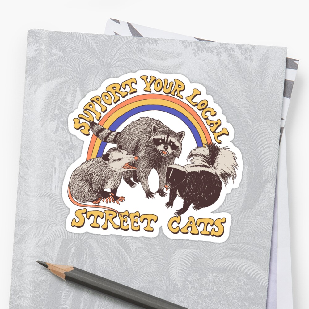 Street Cats Stickers