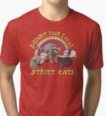 Straßenkatzen Vintage T-Shirt