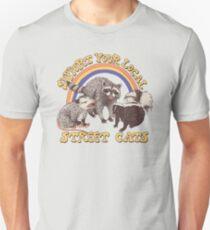 Camiseta ajustada Gatos de la calle
