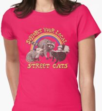 Street Cats Fitted T-Shirt