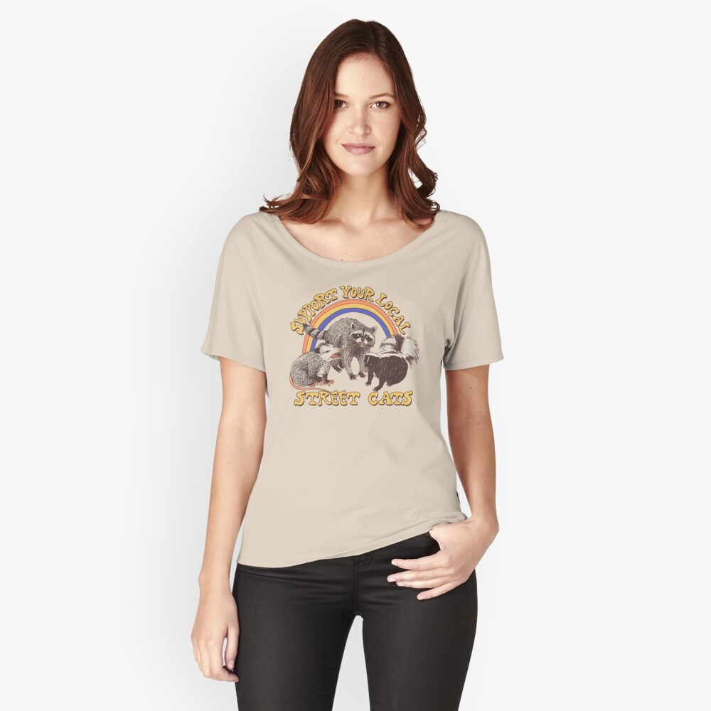 Street Cats Relaxed Fit T-Shirt